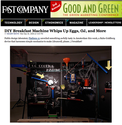 "<a href=""http://www.fastcompany.com/blog/kelsey-keith/designage/breakfast-machine-brings-jetsons-fantasy-life"">Fast Company</a>"