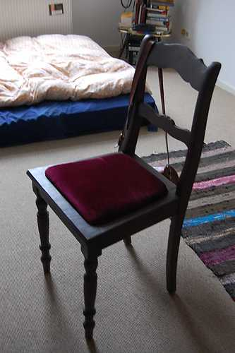 Repaired chair, Adina Luncan