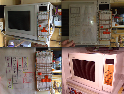 Repaired microwave, Gerald Tros