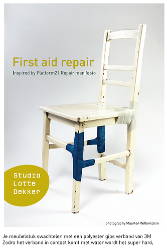 First aid repair, Lotte Dekker